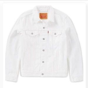 White Wrangler Jean Jacket